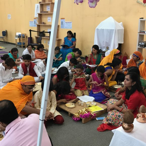Kids Puja in Paryushan
