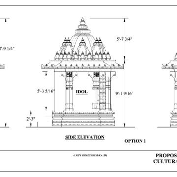 New Jain Garbha Griha